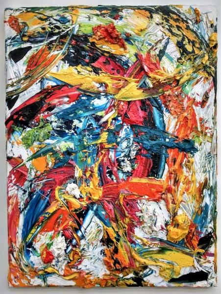The-Centurion, Oil on canvas, 4x3', 2015